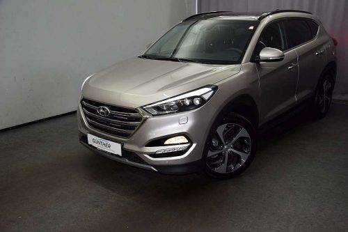 Hyundai Tucson 2,0 CRDI 4WD Platin Aut. bei Auto Günther in